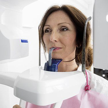 woman in dental technology